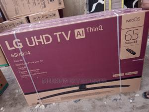 Lg 65'' OLED TV With HDMI,Magic Remote,DTV,AI Thinq. | TV & DVD Equipment for sale in Lagos State, Ojo