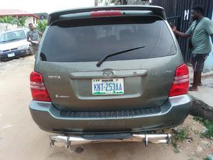 Toyota Highlander 2003 Limited V6 FWD Green   Cars for sale in Lagos State, Alimosho