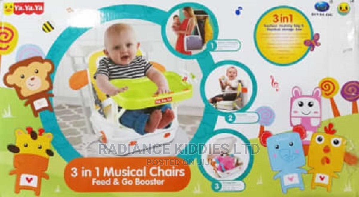 Archive: 3 In 1 Musical Chairs Feed Go Booster Baby