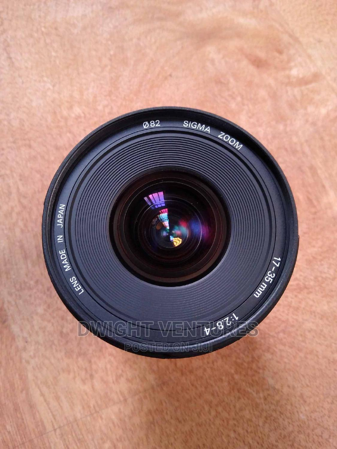 Sigma 17-35mm F/2.8-4 Canon Mount From USA