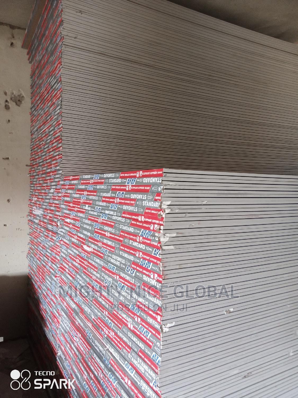 2.4m/12mm Gypsum Board