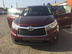 Toyota Highlander 2016 Red   Cars for sale in Lagos State, Ikoyi