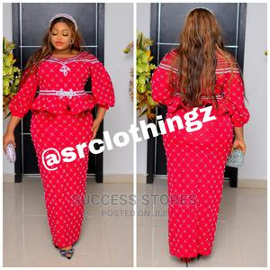 New Quality Fully Stoned Luxury Skirt and Blouse   Clothing for sale in Lagos State, Lagos Island (Eko)