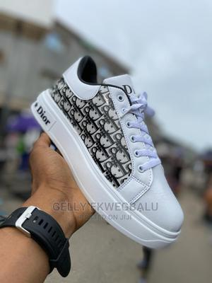 Christian Dior Designer Lace-Up Sneakers | Shoes for sale in Lagos State, Apapa