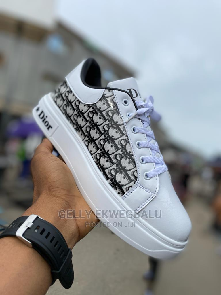 Christian Dior Designer Lace-Up Sneakers