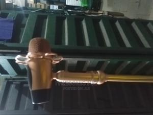 Wire Microphone With Stand | Musical Instruments & Gear for sale in Lagos State, Ojo