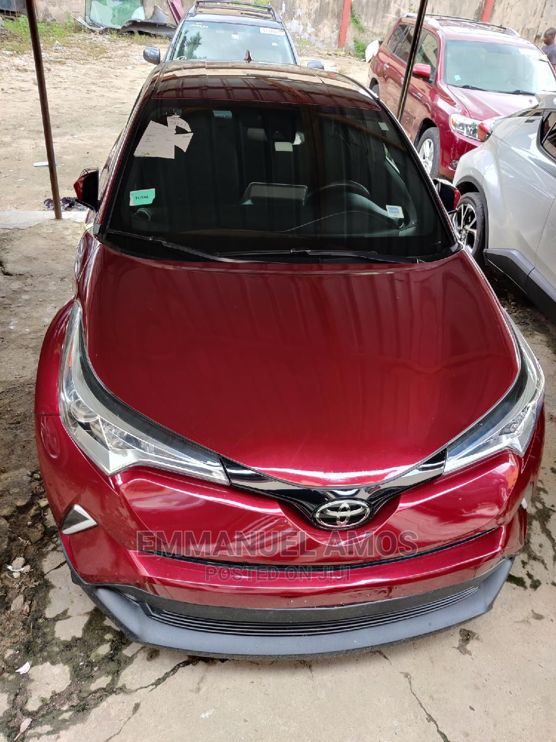 Toyota C-Hr 2019 Limited FWD Red