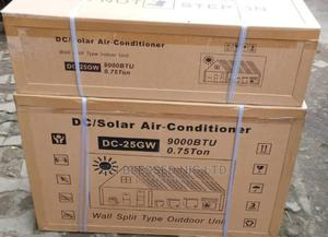 Brand New 1hp Wall Split Unit Solar Air Conditioner   Home Appliances for sale in Lagos State, Lekki
