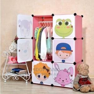 6-Door Baby Storage Cabinet Wardrobe Cartoon Character   Children's Furniture for sale in Lagos State, Amuwo-Odofin