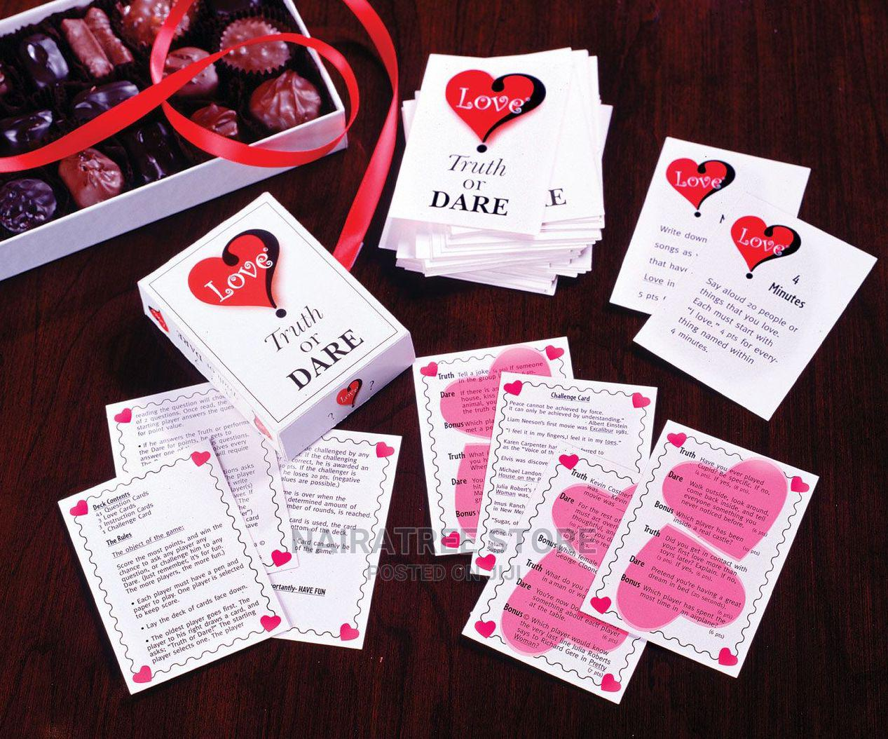 Love Truth or Dare Card Game Thats All About Love   Books & Games for sale in Lekki, Lagos State, Nigeria