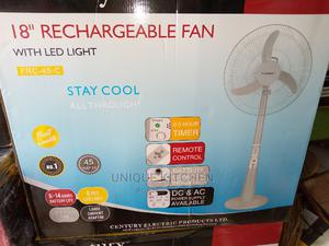 """18"""" Century Rechargeable Standing Fan   Home Appliances for sale in Lagos State, Lagos Island (Eko)"""