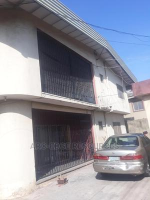 Neat Solid Block of 4flat of 3bedroom Each Wit 4shop,Cofo   Houses & Apartments For Sale for sale in Isolo, Ago Palace