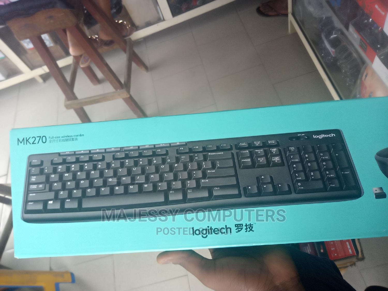 Archive: Logitech Wireless Keyboard / Mouse MK270