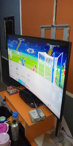 Perfect 55inch Curve Samsung UE55MU6220 UHD 4K Smart TV | TV & DVD Equipment for sale in Lagos State, Surulere