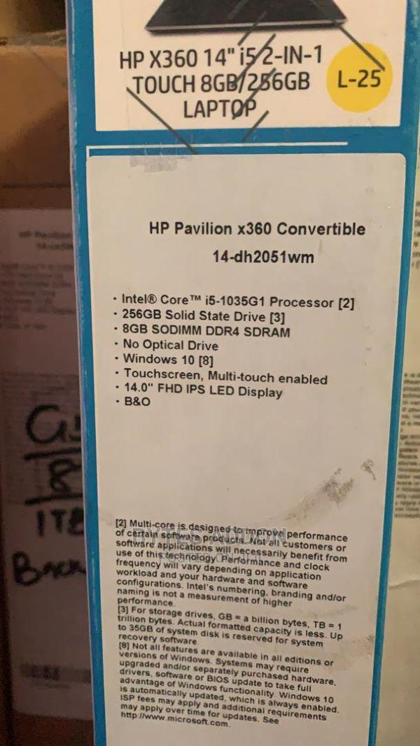 New Laptop HP Pavilion X360 8GB Intel Core I5 SSD 512GB   Laptops & Computers for sale in Ikeja, Lagos State, Nigeria