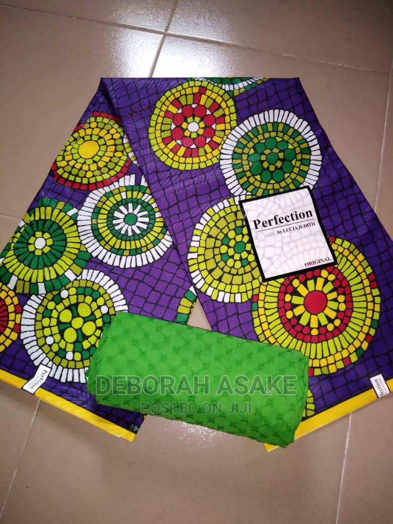 Archive: Kindly Get Our Beautiful Ankara and Lace Combo.