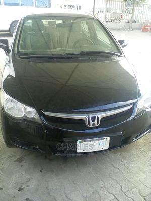 Honda Civic 2007 1.8 Sedan LX Automatic Black   Cars for sale in Rivers State, Port-Harcourt