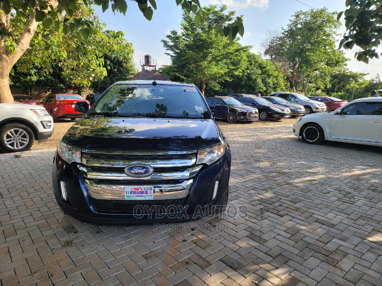 Ford Edge 2011 Blue