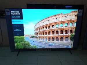 "Samsung Un65tu7000fxzc 65"" Smart LED 4K Ultra HD TV   TV & DVD Equipment for sale in Lagos State, Ojo"