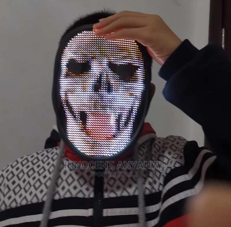 Rechargeable Bluetooth Led Mask