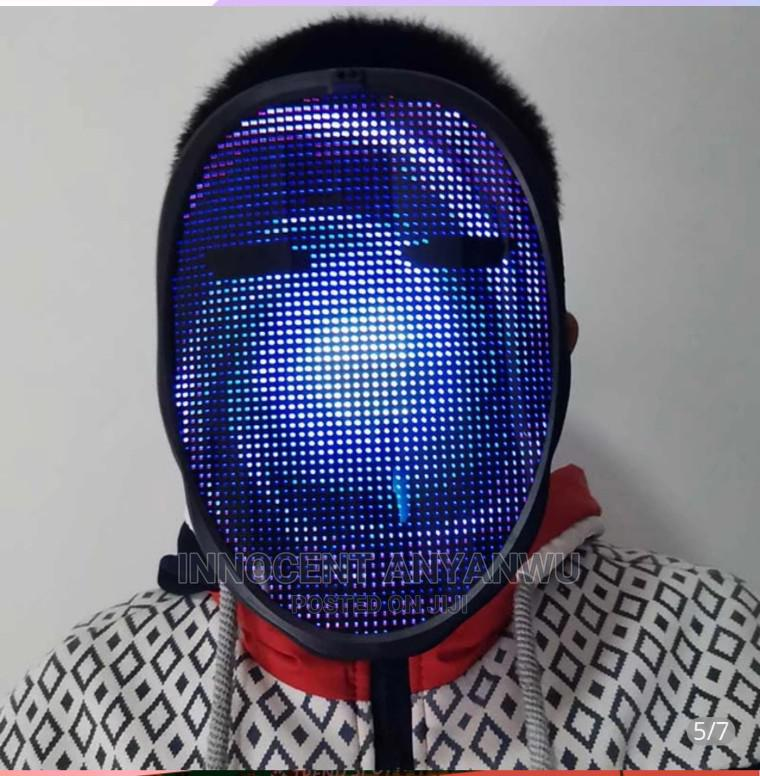 Rechargeable Bluetooth Led Mask   Home Accessories for sale in Lagos Island (Eko), Lagos State, Nigeria