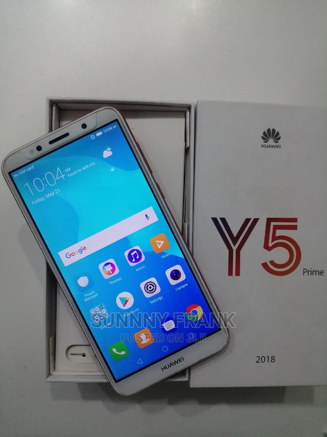 New Huawei Y5 16 GB Black | Mobile Phones for sale in Wuse 2, Abuja (FCT) State, Nigeria