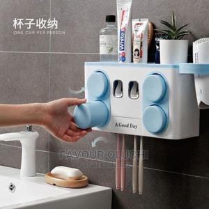 Multifunction Toothbrush Holder With Cup and Dryer | Home Accessories for sale in Lagos State, Ikotun/Igando