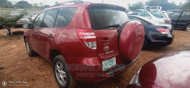 Toyota RAV4 2010 2.5 Red   Cars for sale in Kubwa, Abuja (FCT) State, Nigeria