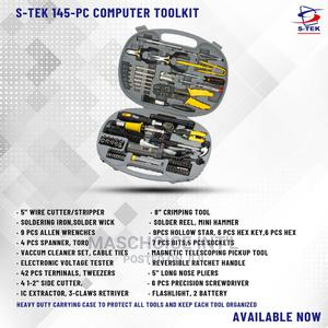 S-tek 145piece Networking Tool KIT | Hand Tools for sale in Lagos State, Ikeja