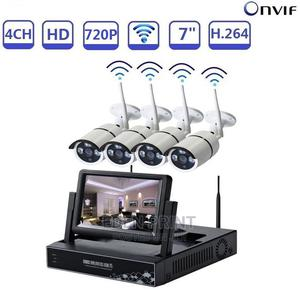 HD NVR Complete Wifi CCTV Four Camera With Inbuilt Monitor | Security & Surveillance for sale in Oyo State, Egbeda