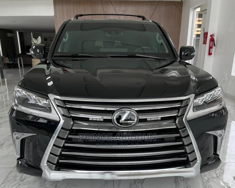 New Lexus LX 2020 570 Two-Row Black