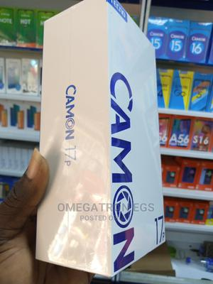 New Tecno Camon 17P 128 GB Gray | Mobile Phones for sale in Lagos State, Surulere