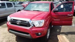 Toyota Tacoma 2012 Double Cab V6 Red | Cars for sale in Lagos State, Apapa