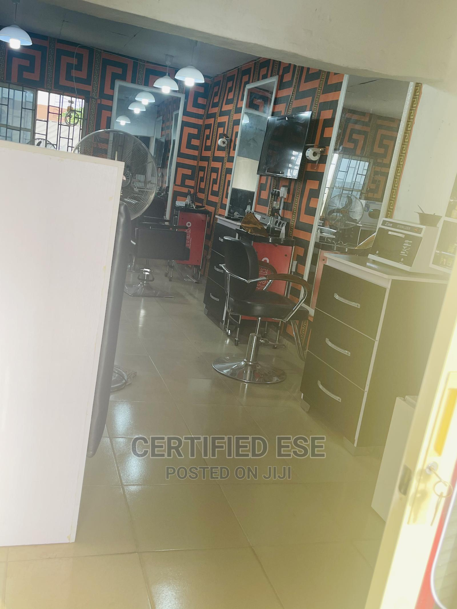 Fully Equipped Barbing Saloon | Commercial Property For Sale for sale in Benin City, Edo State, Nigeria