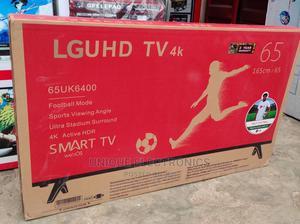 "New One Arrival LG 65"" 4K UHD Netflix+Wi-Fi SMART TV+Bracket | TV & DVD Equipment for sale in Lagos State, Ojo"