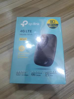 Tp-Link 4G LTE Mobile Wi-Fi Hotspot Router M7200   Networking Products for sale in Lagos State, Ikeja