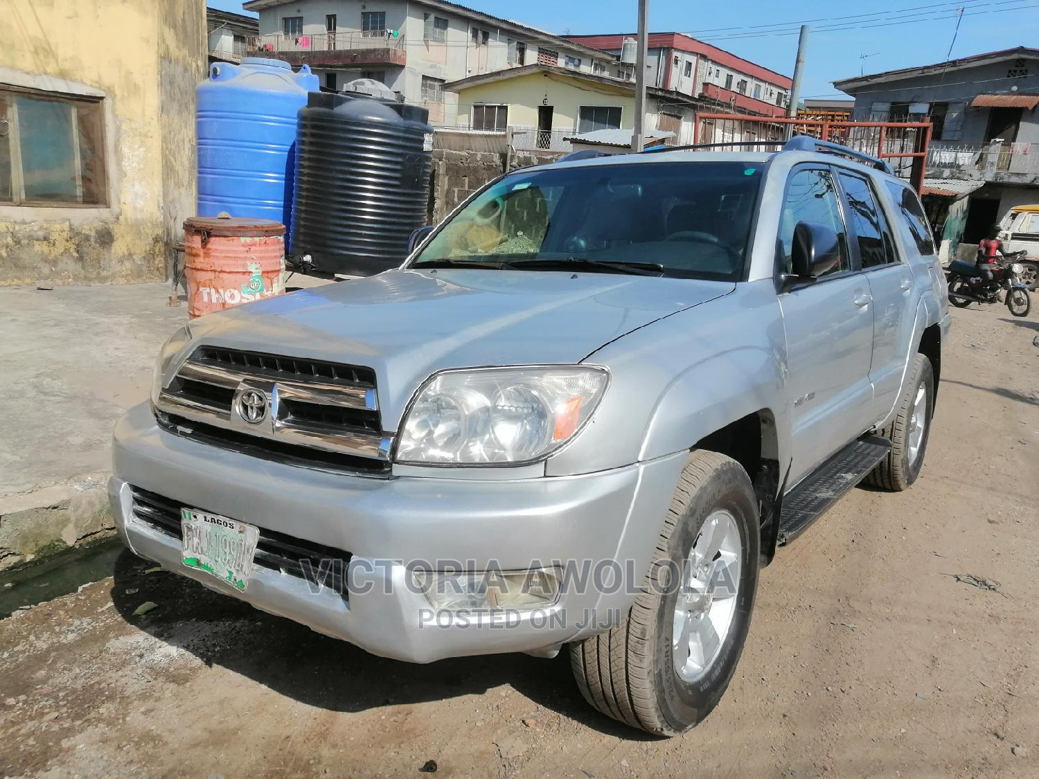 Toyota 4-Runner 2006 SR5 4x4 V6 Silver   Cars for sale in Apapa, Lagos State, Nigeria