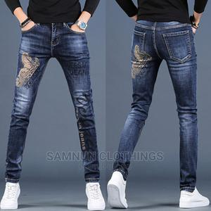 Original Elastic Versace Jeans Trousers for Classic Guys | Clothing for sale in Lagos State, Ikeja