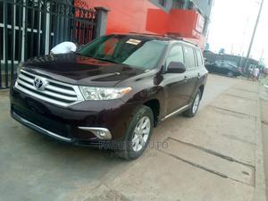 Toyota Highlander 2013 3.5L 4WD Brown | Cars for sale in Lagos State, Ifako-Ijaiye