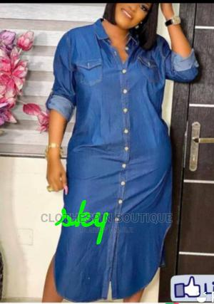 Classy Female Jeans Gown | Clothing for sale in Lagos State, Oshodi