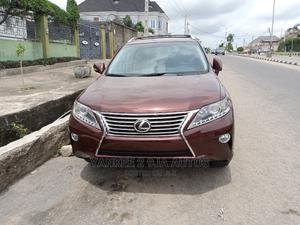 Lexus RX 2015 350 FWD Red | Cars for sale in Lagos State, Ikeja
