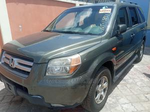 Honda Pilot 2007 LX 4x4 (3.5L 6cyl 5A) Green | Cars for sale in Lagos State, Ojo