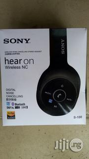 Sony Bluetooth Headset S-100 | Headphones for sale in Lagos State, Ikeja
