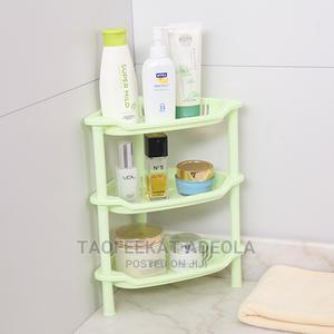 3 Tier Plastic Corner Trolley Storage Rack | Home Accessories for sale in Lagos State, Lagos Island (Eko)