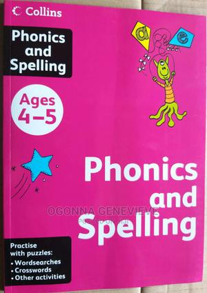 Collins Phonics and Spelling for Age 4-5   Books & Games for sale in Lagos State, Yaba
