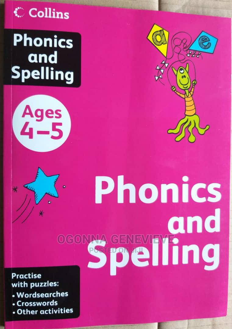 Collins Phonics and Spelling for Age 4-5