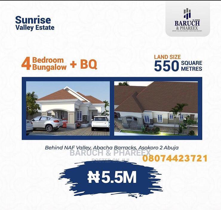 Land for Sale. Sunrise Valley Estate, Behind Naf Valley.   Land & Plots For Sale for sale in Central Business Dis, Abuja (FCT) State, Nigeria