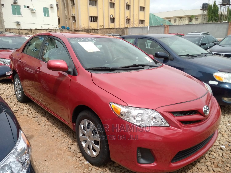 Toyota Corolla 2011 Red   Cars for sale in Kaduna / Kaduna State, Kaduna State, Nigeria