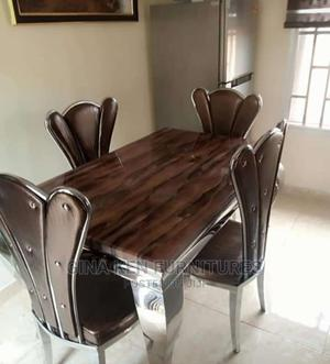 Set of Marble Dinning Table With 4 Chairs | Furniture for sale in Lagos State, Ojo