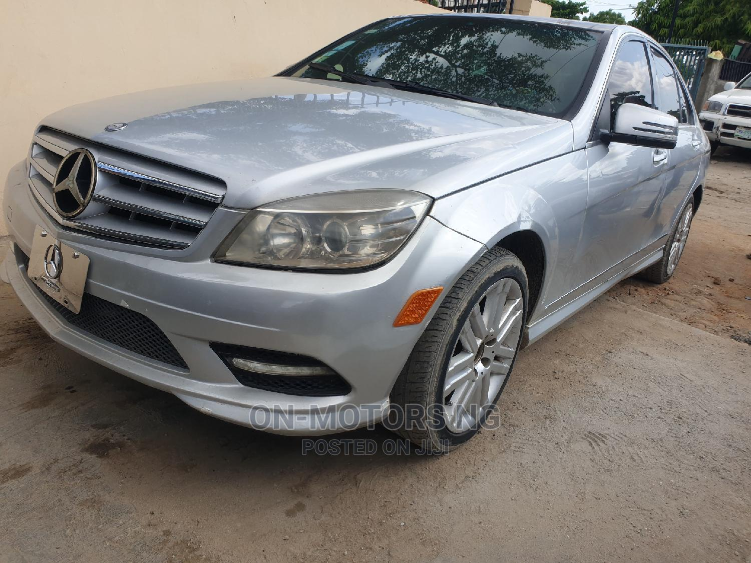 Mercedes-Benz C300 2009 Silver   Cars for sale in Ikeja, Lagos State, Nigeria